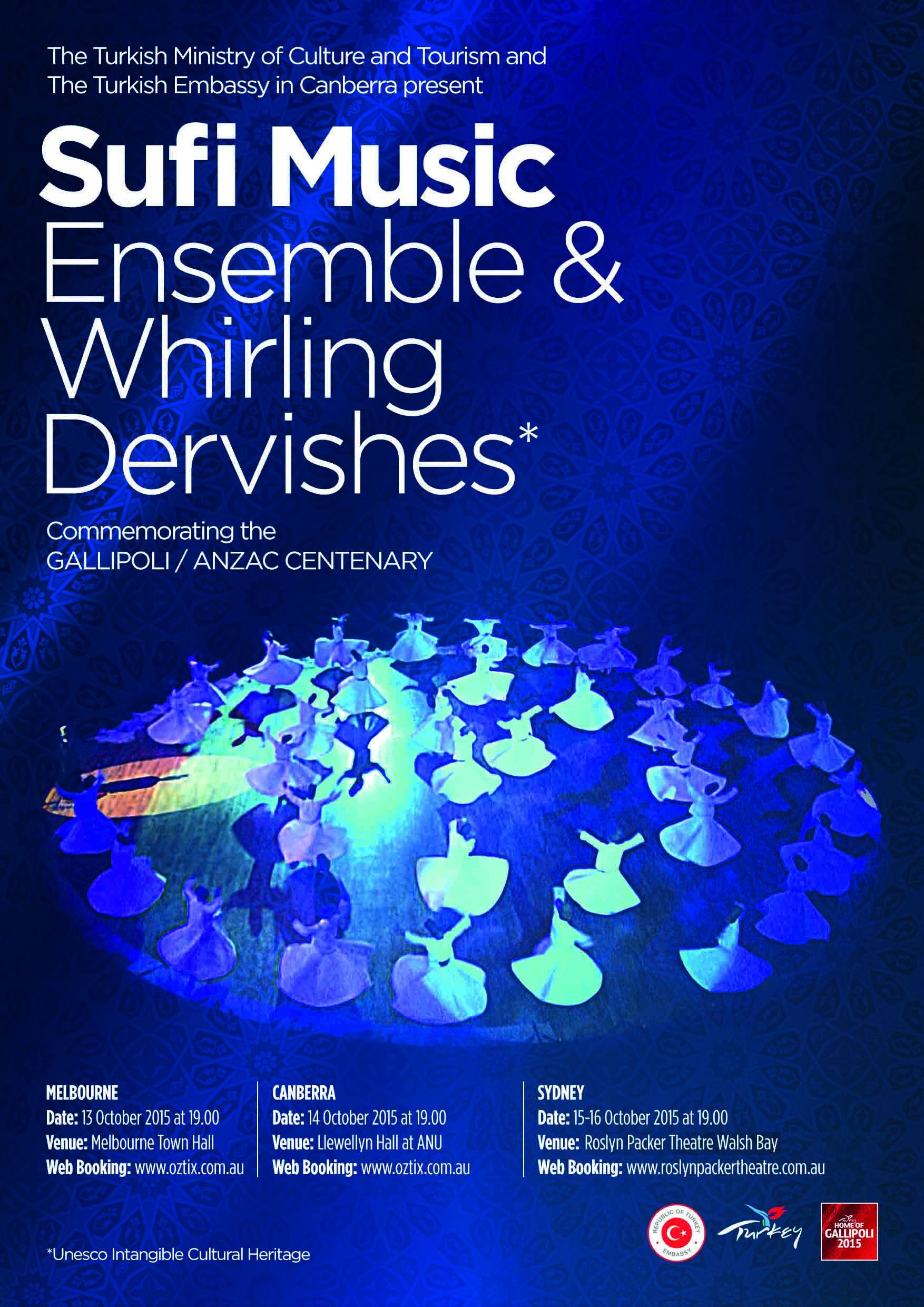 Turkish Sufi Music & Sema Ceremony featuring Whirling Dervishes 13